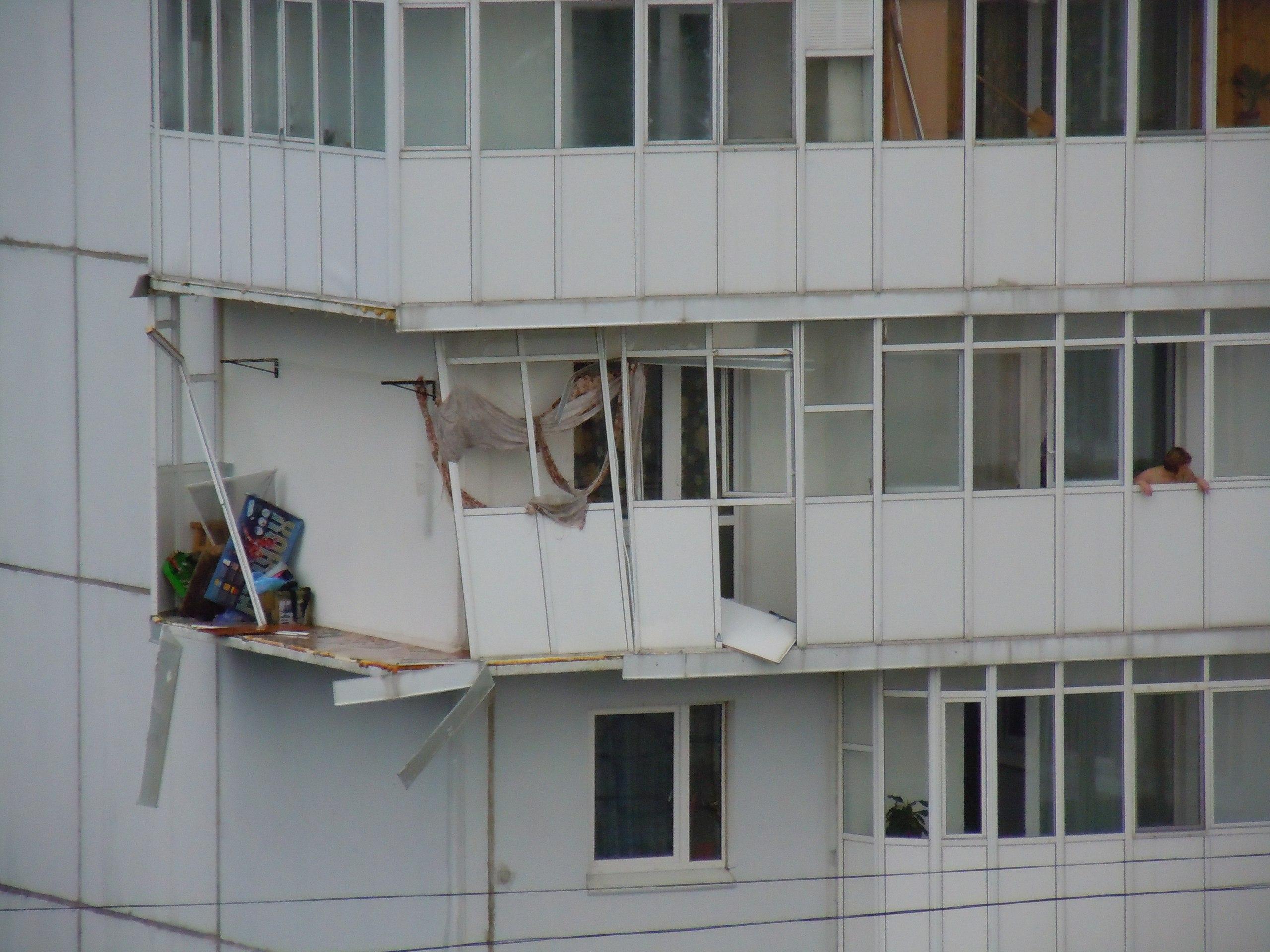 Дмитрий самойлов о рухнувших балконах: надо смотреть, правил.