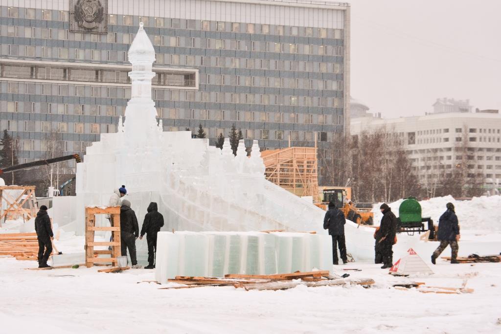 Сколько стоит строительство пермских ледовых городков