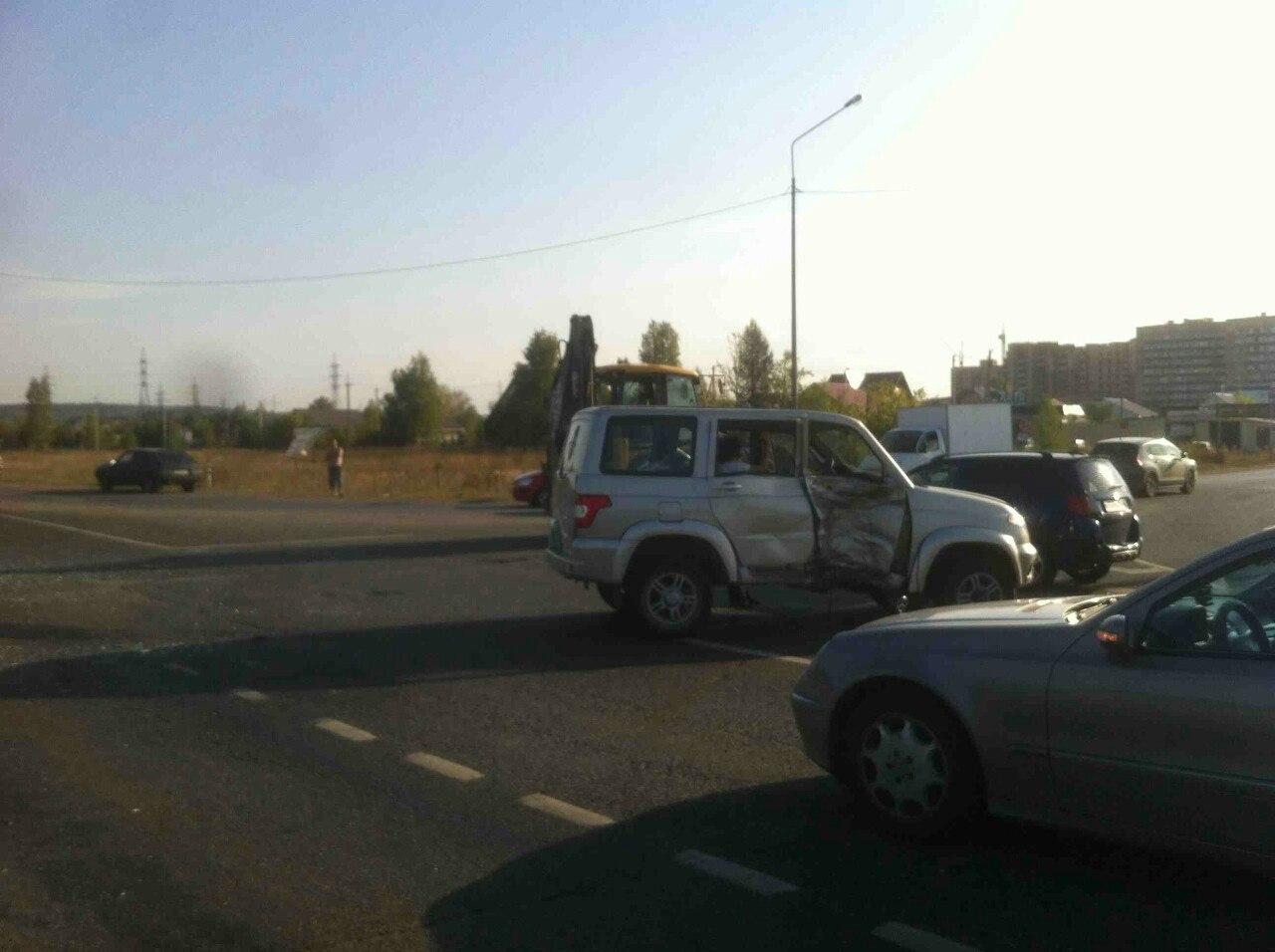 ВПермском районе вДТП сУАЗом насмерть разбился мотоциклист