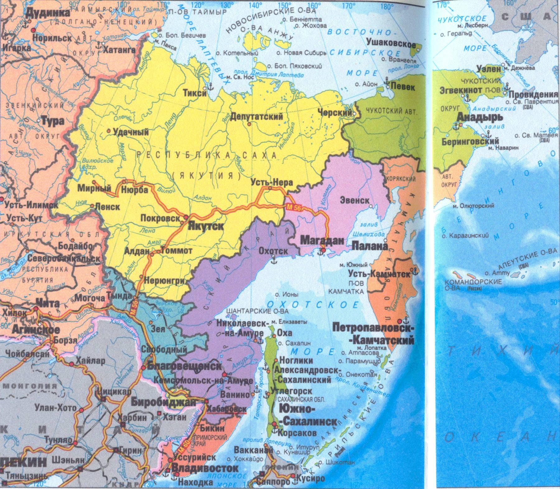 карта дальнего востока картинки грызуны временем привыкают