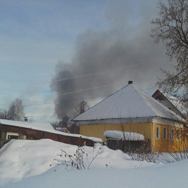ВПрикамье напожаре погибли два человека