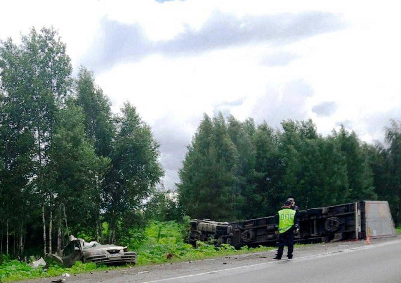 На трассе Нытва-Краснокамск произошло смертельное ДТП