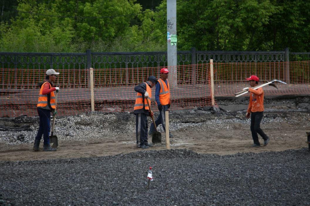 На Северной дамбе в Перми заменили подземные коммуникации