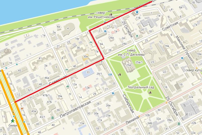 В Перми вновь изменился маршрут движения автобуса №3
