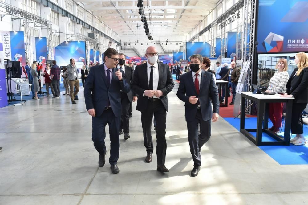 Вице-премьер РФ Дмитрий Чернышенко оценил разработки пермских IT-компаний