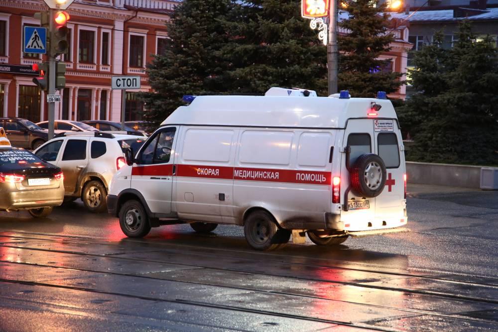 Вмикрорайоне Парковый столкнулись две иномарки: пострадал ребенок