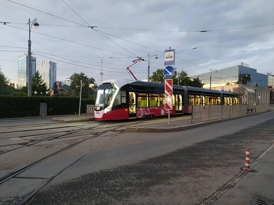 Стало известно, где планируется проложить новые трамвайные пути в Перми