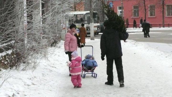 Ввыходные вПрикамье предполагается сильный снегопад