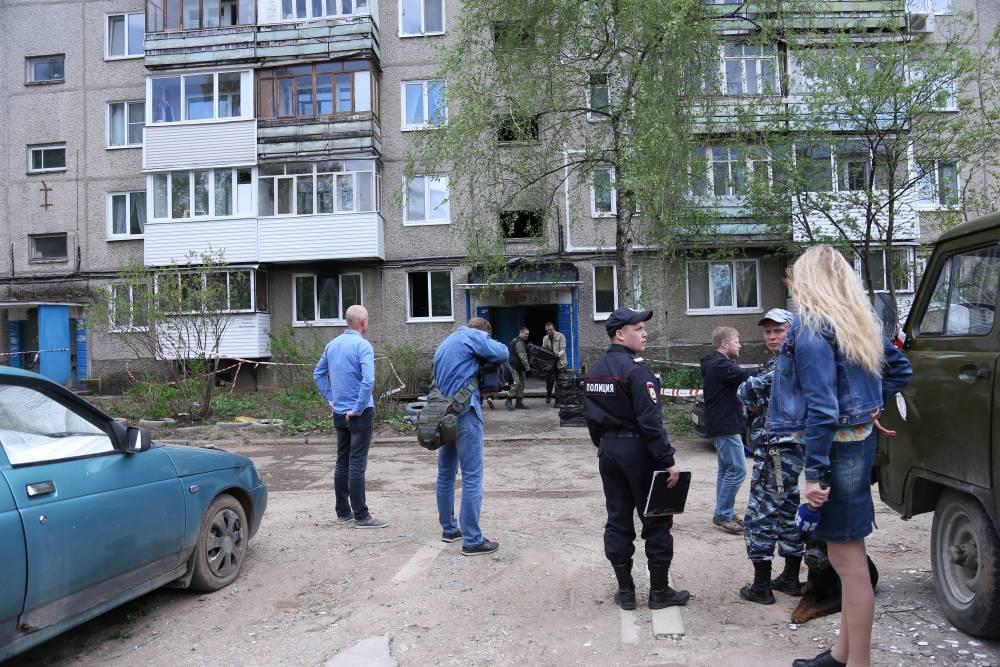4 человека пострадали при взрыве вжилом доме вПерми
