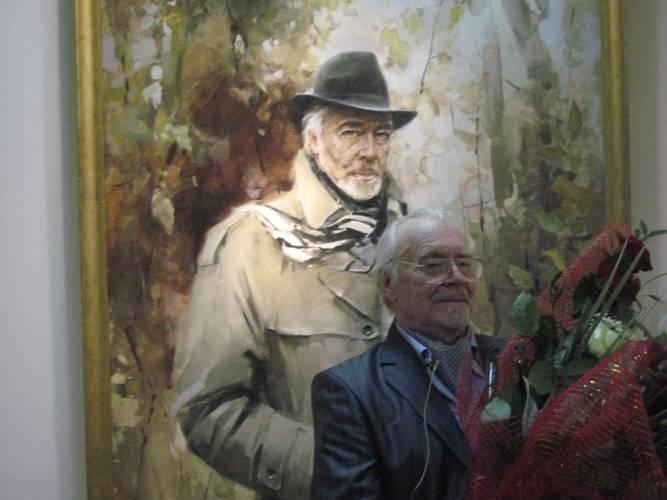 ВПерми на86 году жизни скончался художник Евгений Широков