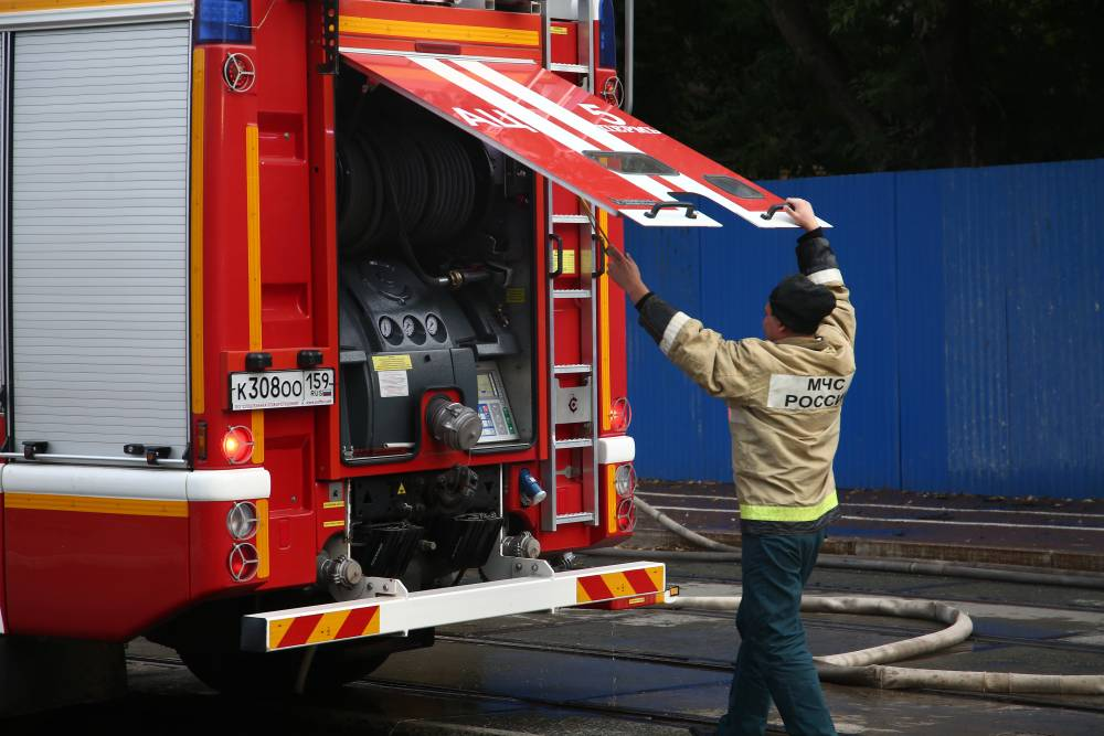 В новогоднюю ночь в Перми случился пожар в многоэтажном доме