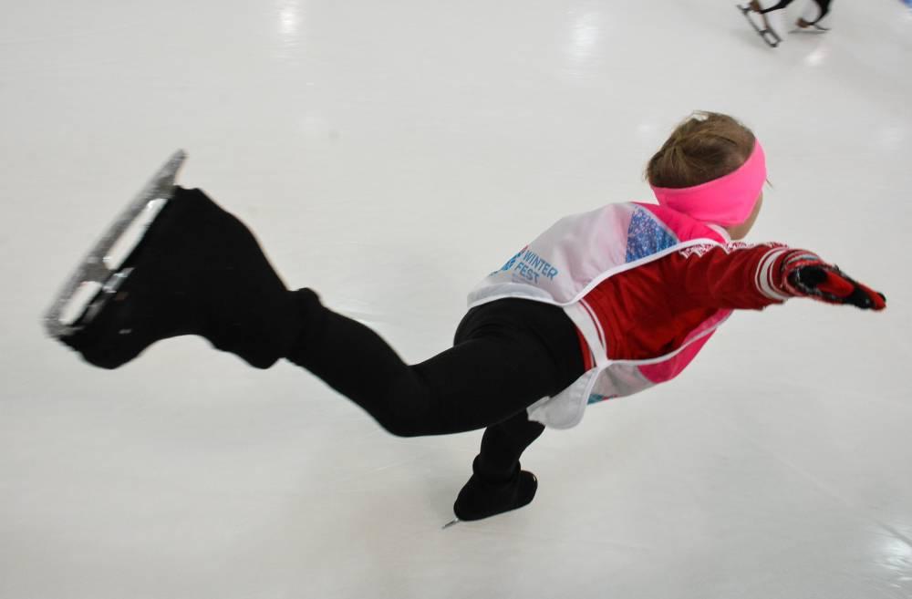 Подмосковные конькобежцы завоевали 6 наград этапа Кубка мира среди юниоров