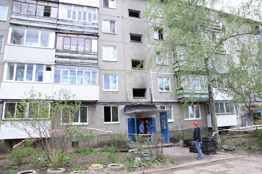 Жильцы дома на улице Свиязева, где взорвался газ, смогут вернуться в свои квартиры
