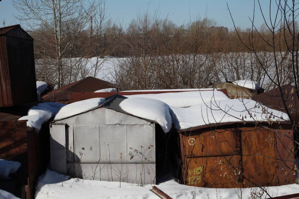 ВКировском районе демонтировали 20 незарегистрированных построек