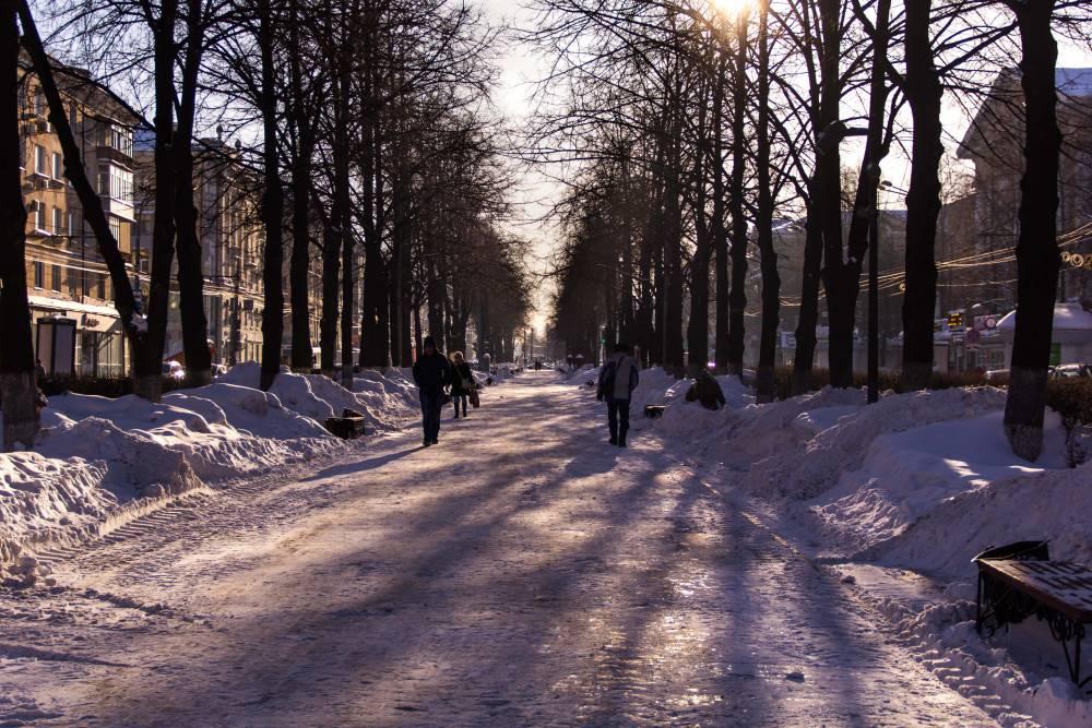 В Перми в конце недели ожидается оттепель