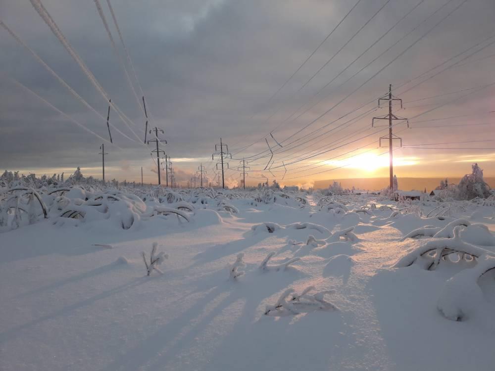 В выходные в Перми синоптики прогнозируют снегопад