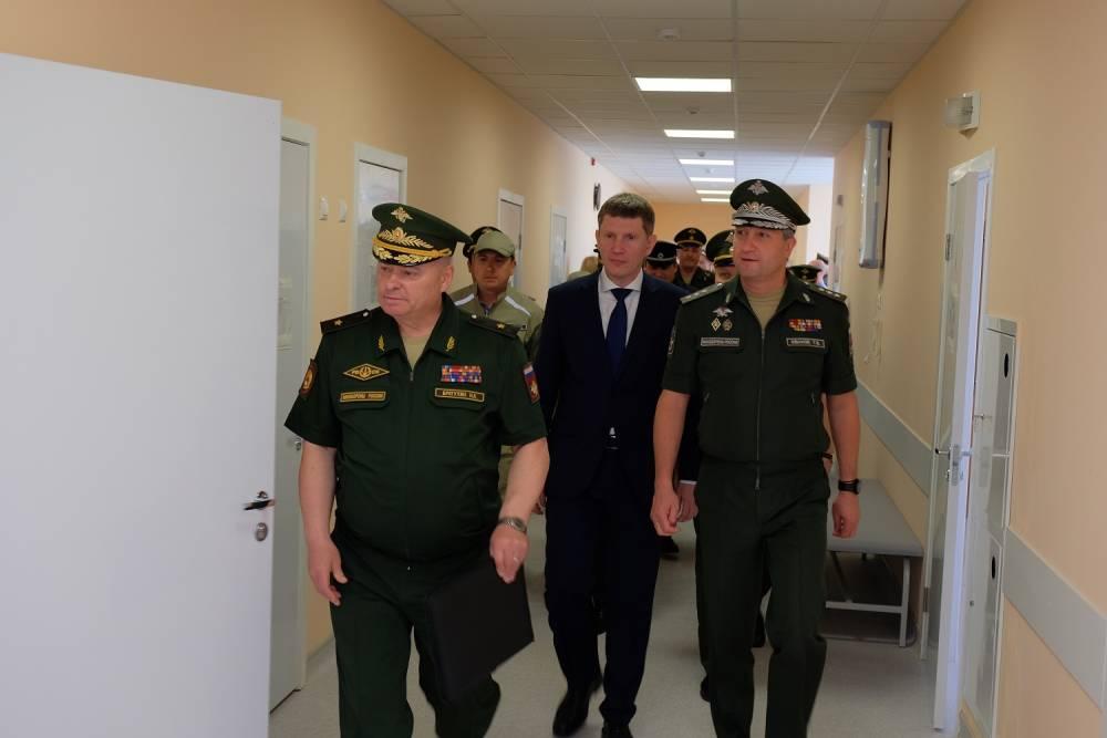 Замминистра обороны РФ Тимур Иванов посетил Пермское суворовское военное училище