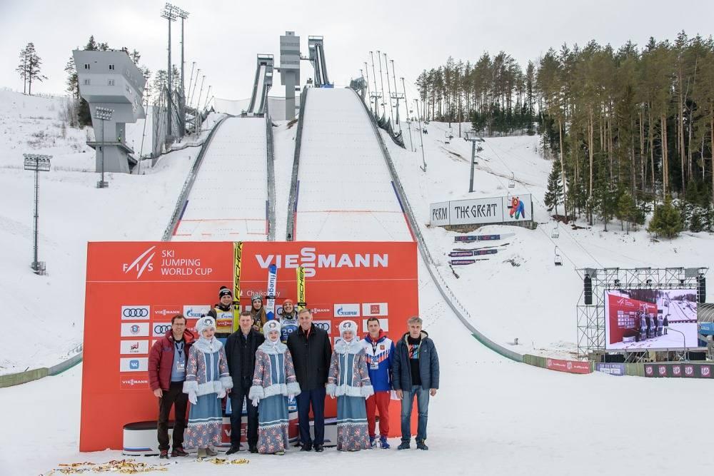 Пермский край так организовал соревнования по прыжкам с трамплина, что поразил весь мир