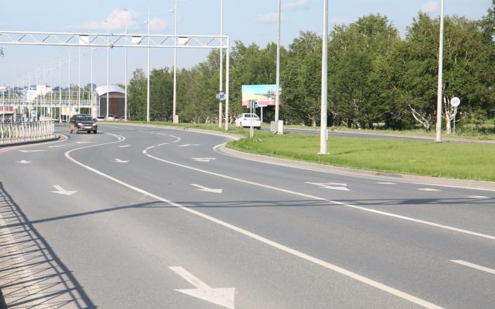 ВПерми отыскали подрядчика навыпрямление шоссе Космонавтов