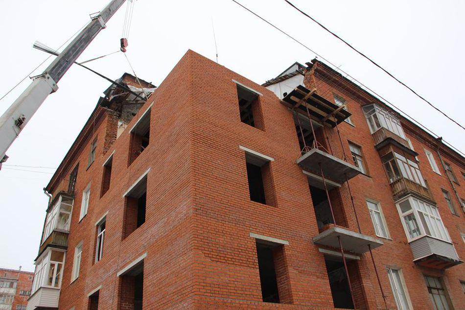 фото восстановления дома на куйбышева пермь