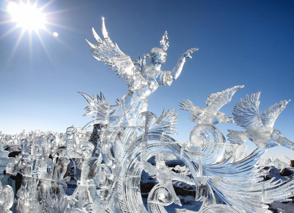 Фестиваль ледяных